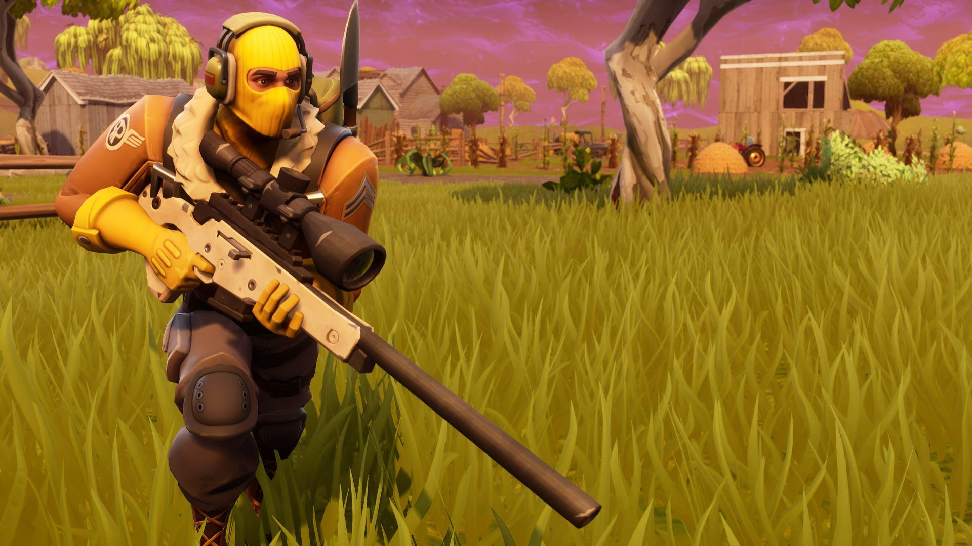 Raptor Sniper Rifle Fortnite Battle Royale HD 1920x1080