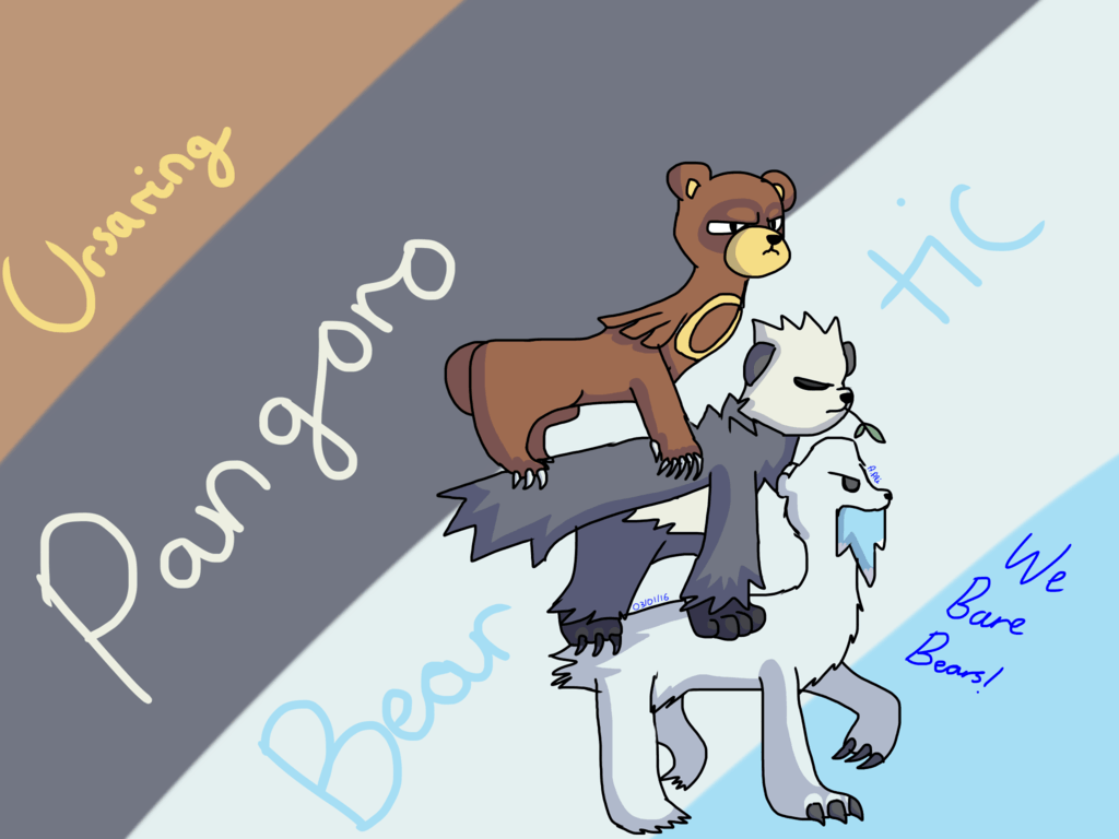 Ursaring, Pangoro and Beartic-We Bare Bears! by topnotch0060 on ...