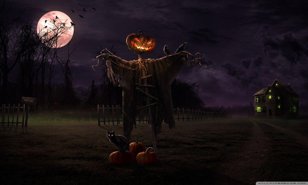 HAPPY HALLOWEEN Wallpaper and Background Image | 1280x768 | ID:446262