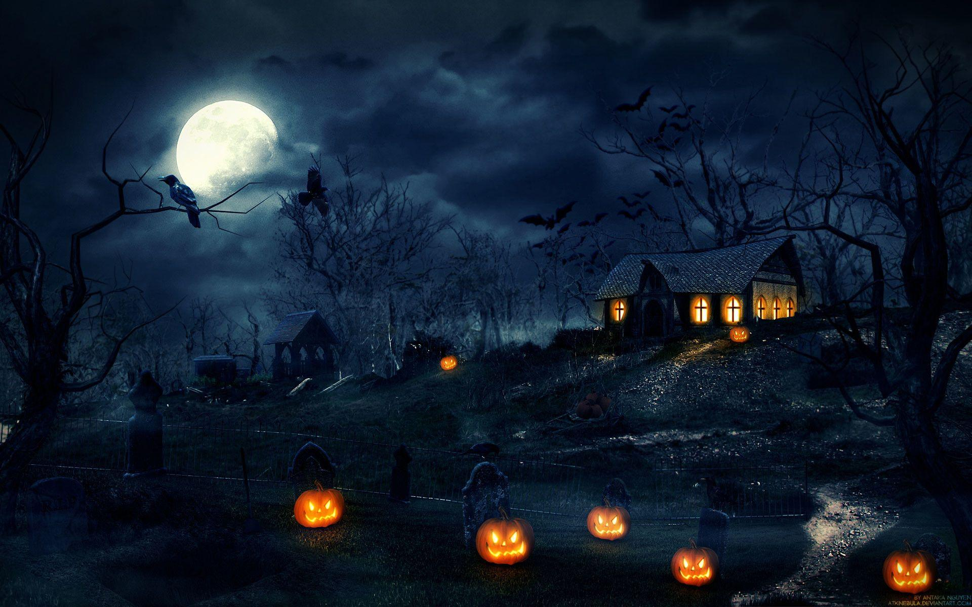 Halloween Backgrounds Wallpapers (81+ background pictures)