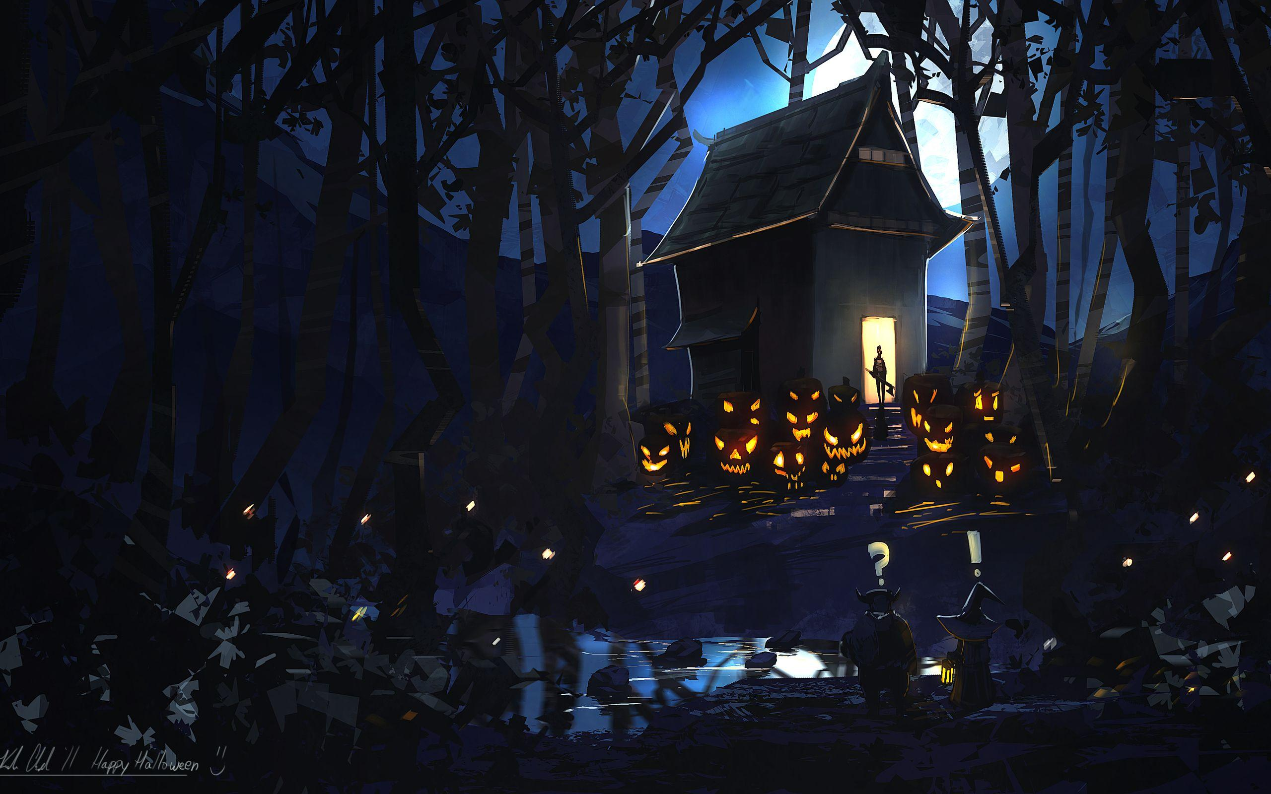 Halloween HD Wallpaper | Background Image | 2560x1600 | ID:192597 ...