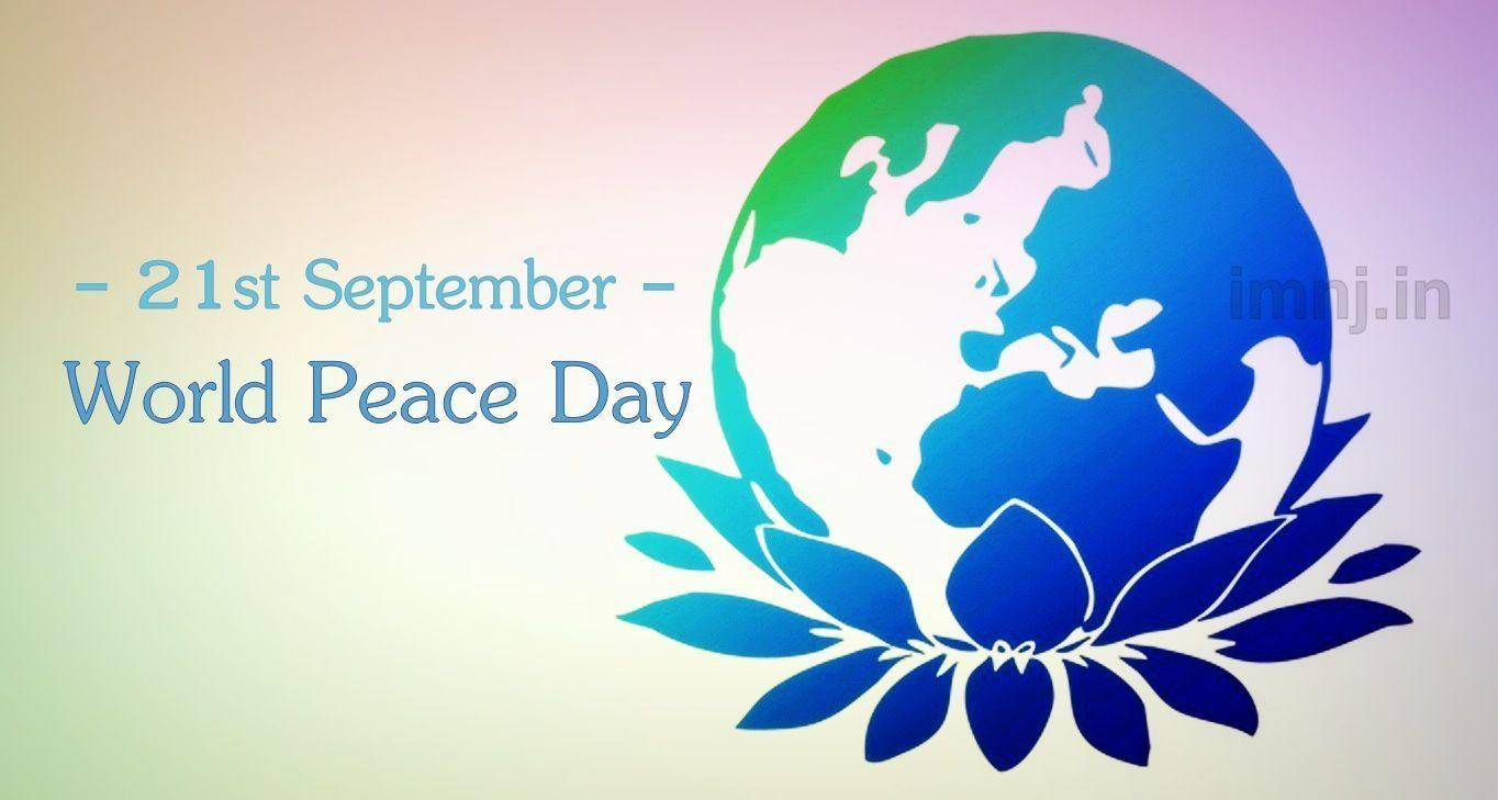 World Peace Day Wallpapers