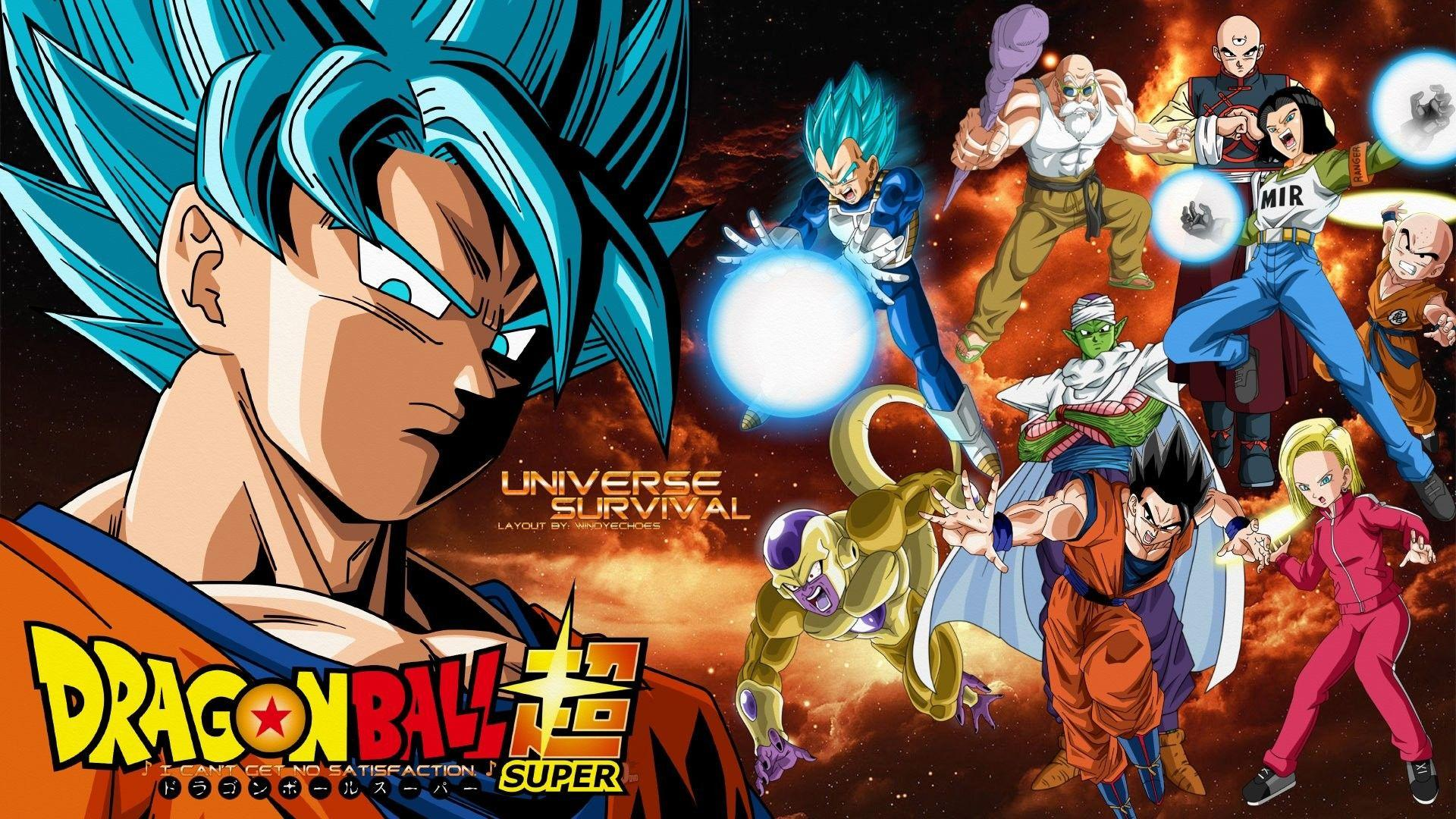 Dragon Ball Universe Fighters Wallpapers Wallpaper Cave