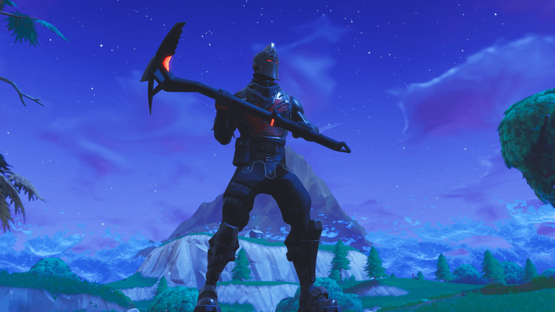 PSA: Black Knight w/ Spectre Axe looks sick AF : FortNiteBR