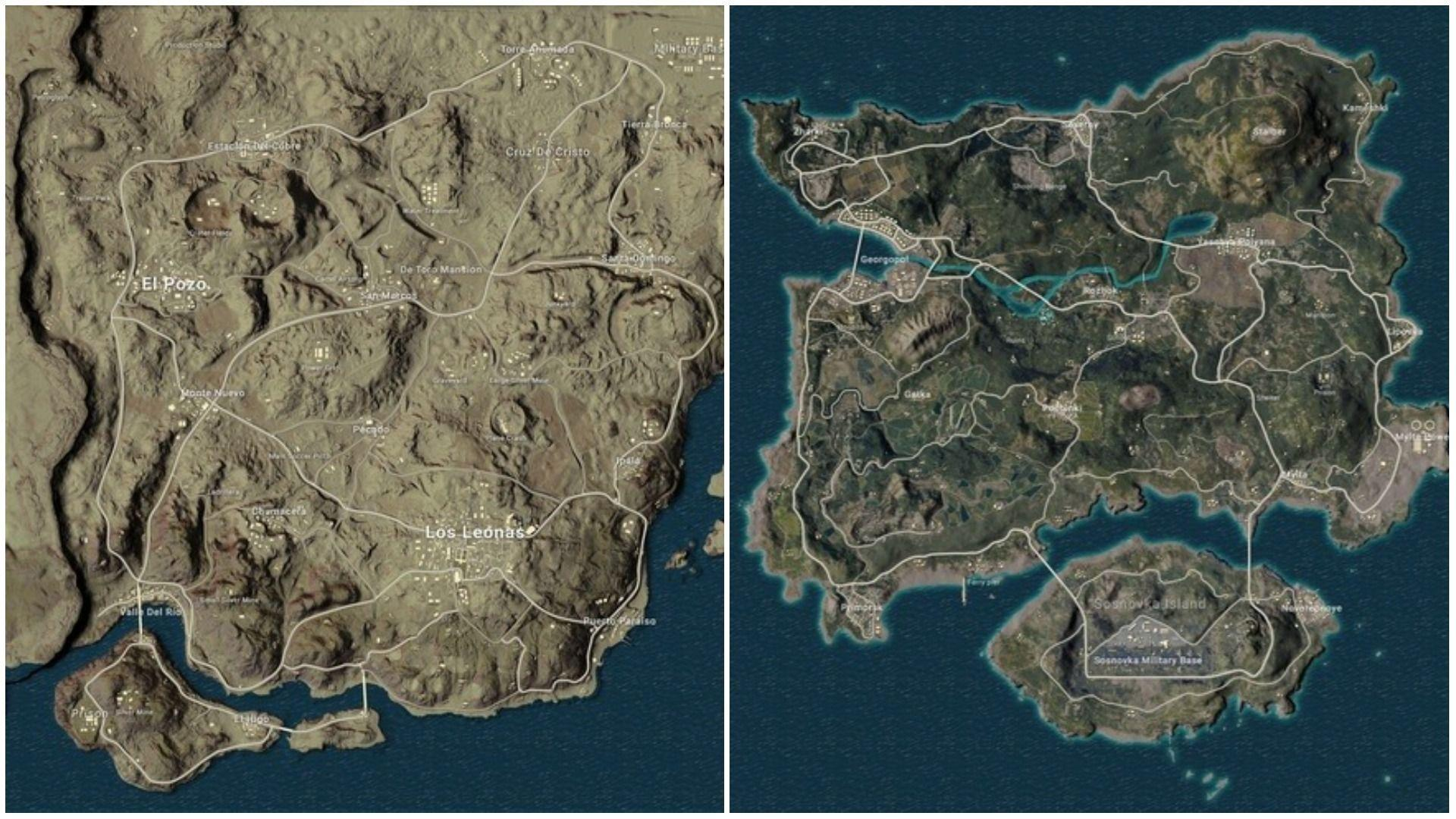 PUBG Map Wallpapers