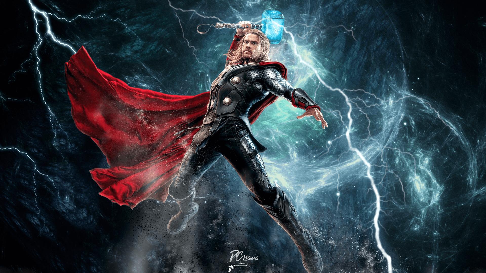 Thor Ragnarok Lightning Wallpapers Wallpaper Cave