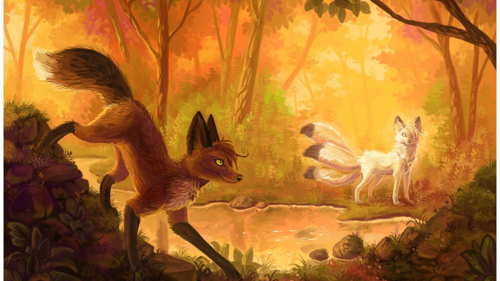 The Best Cute Fox Wallpaper Drawing Wallpapers