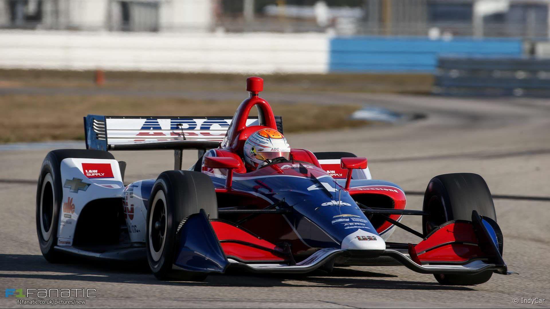 Matheus Leist, Foyt, IndyCar, Sebring, 2018 · RaceFans