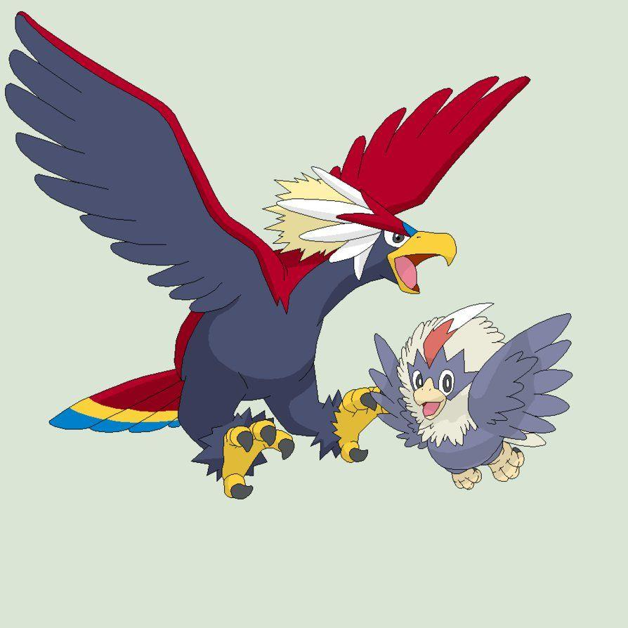 Pokemon Base 76~Rufflet Evolution~ by Xbox-DS-Gameboy on DeviantArt