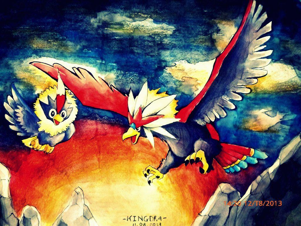 Braviary and Rufflet by PhamTanVietkingdra on DeviantArt