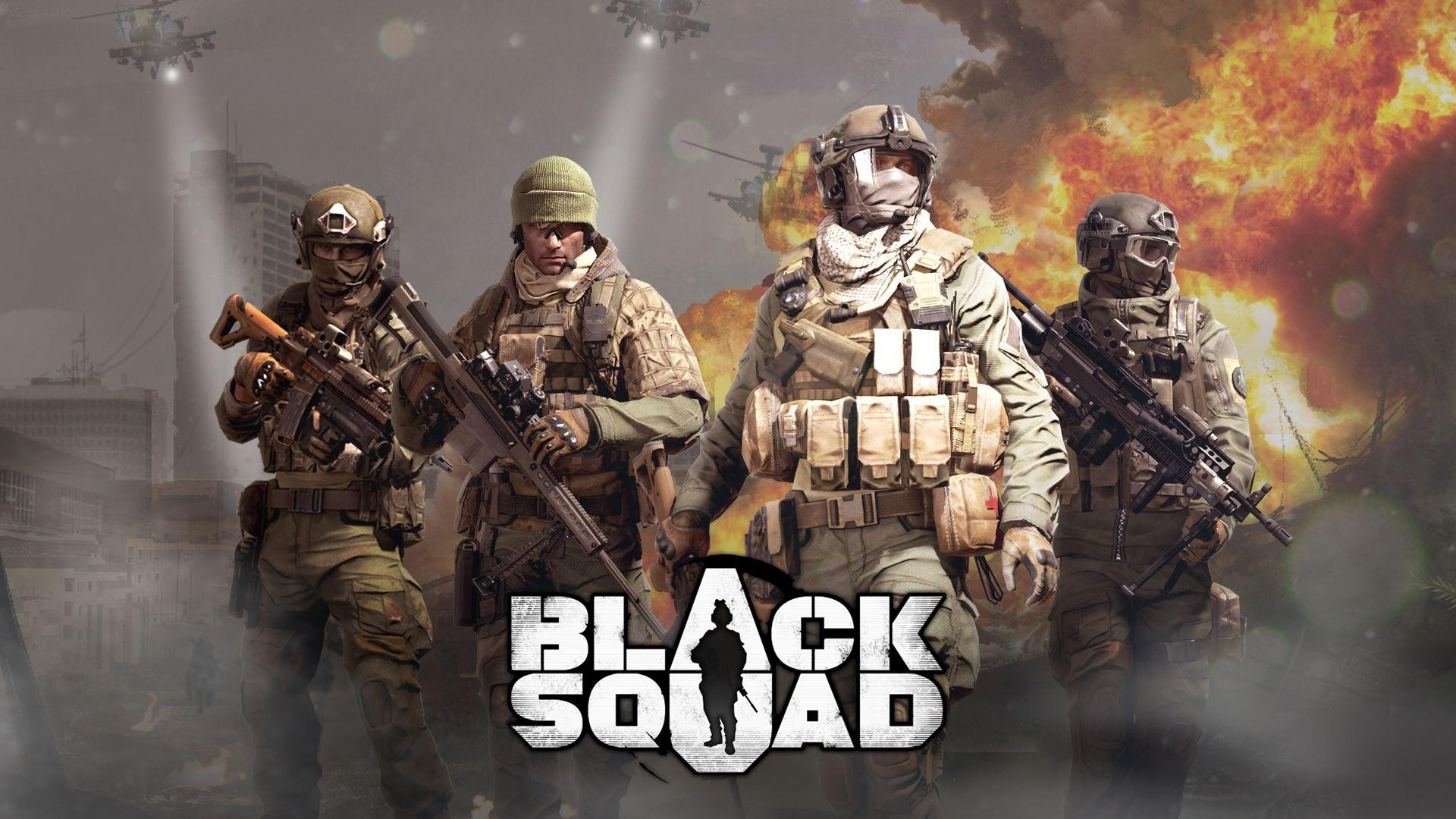 Pubg Squad Wallpapers: Black Squad Wallpapers