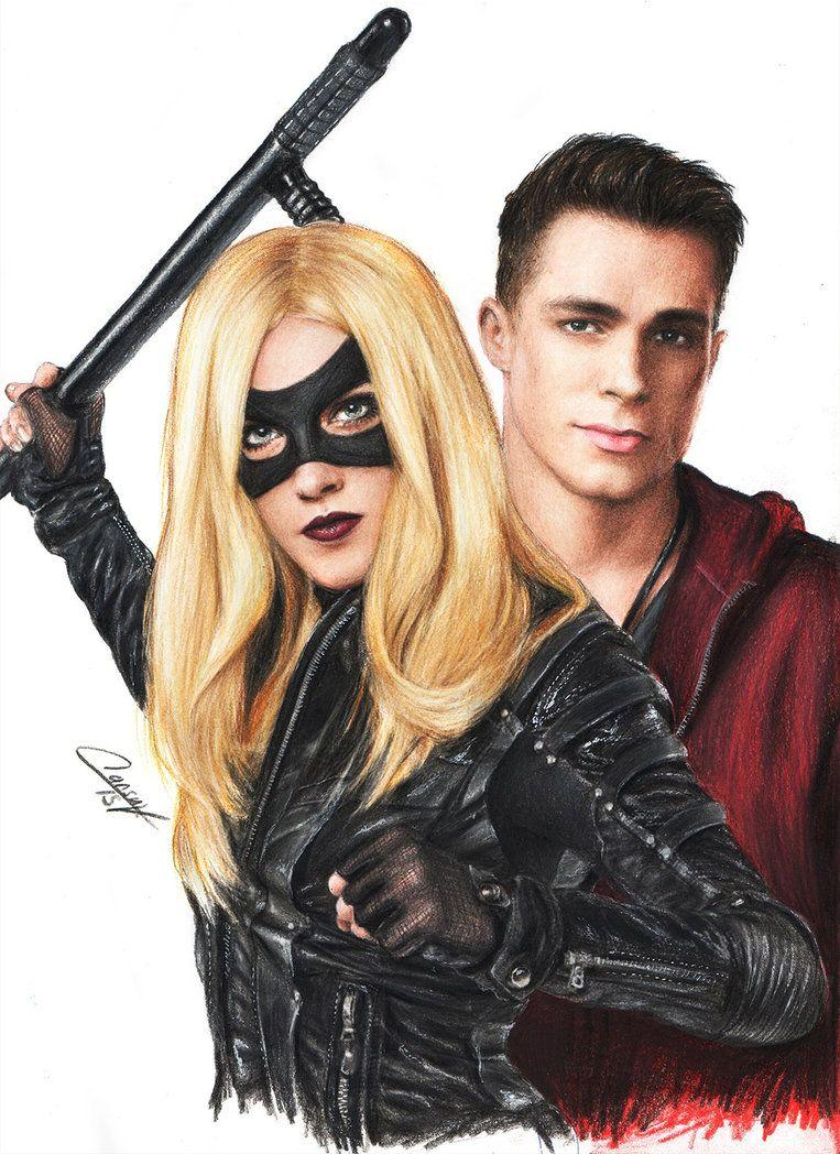 arrow roy harper black canary colton haynes katie by CansuVURAL on ...