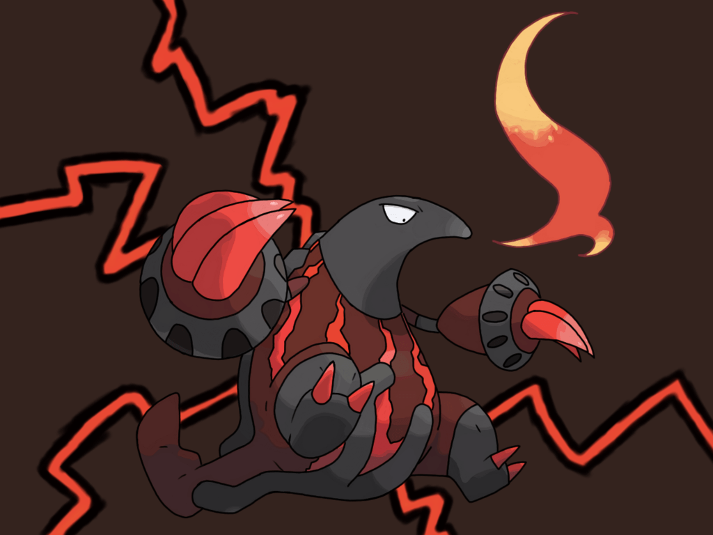 Shiny Heatmor by ElectroPlazma on DeviantArt