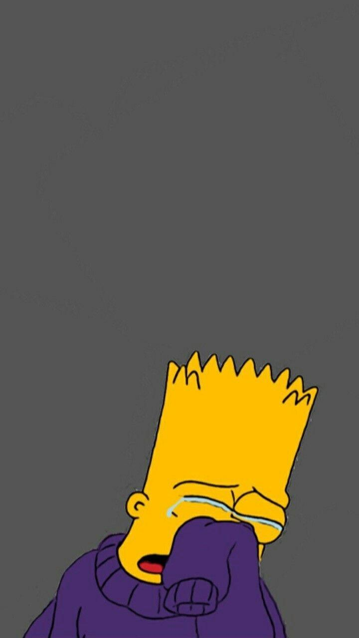 Bart Sad Wallpapers Wallpaper Cave