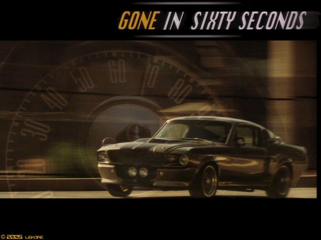 Gone In 60 Seconds Wallpapers Wallpaper Cave