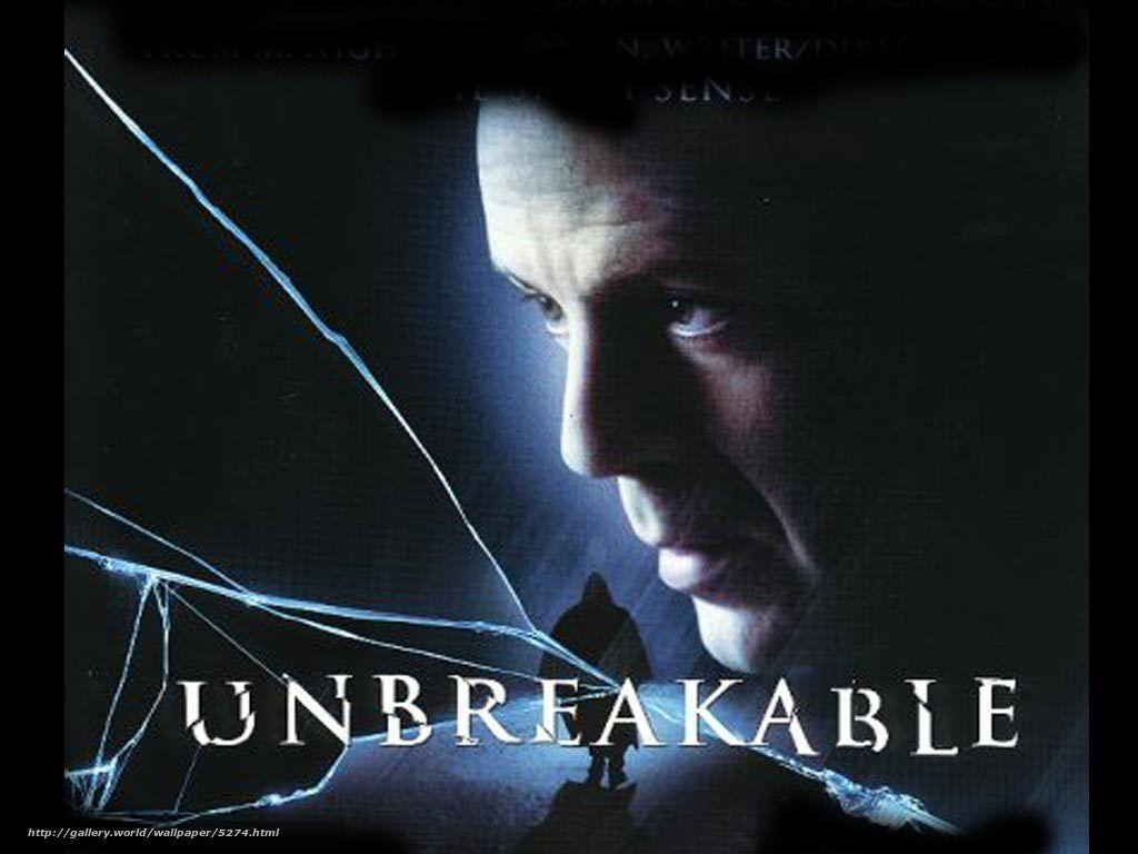 Download wallpapers Invulnerable, Unbreakable, film, movies free