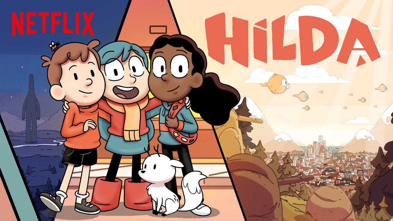 "New Kids' Animated Series ""Hilda"" Gets a Trailer – Coming Soon 