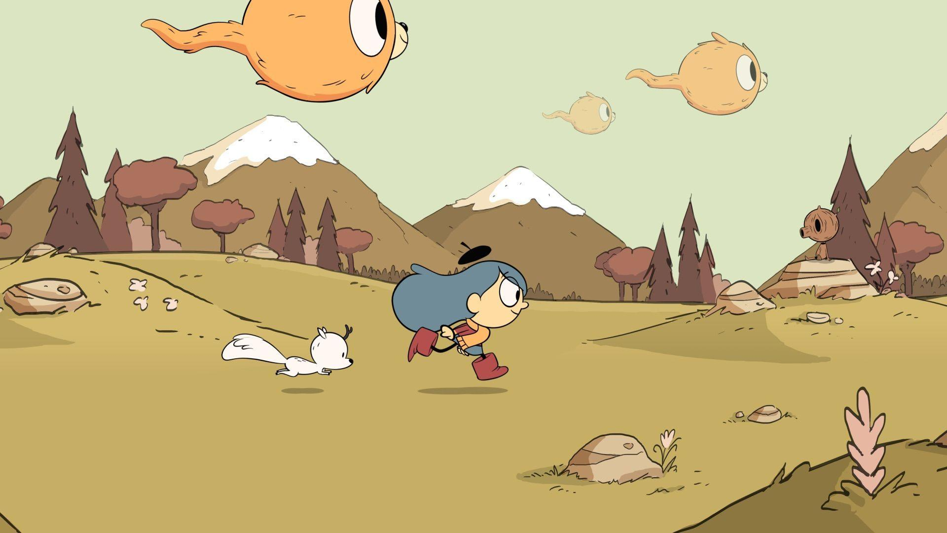 Netflix's Hilda looks like combination of Adventure Time, Gravity ...