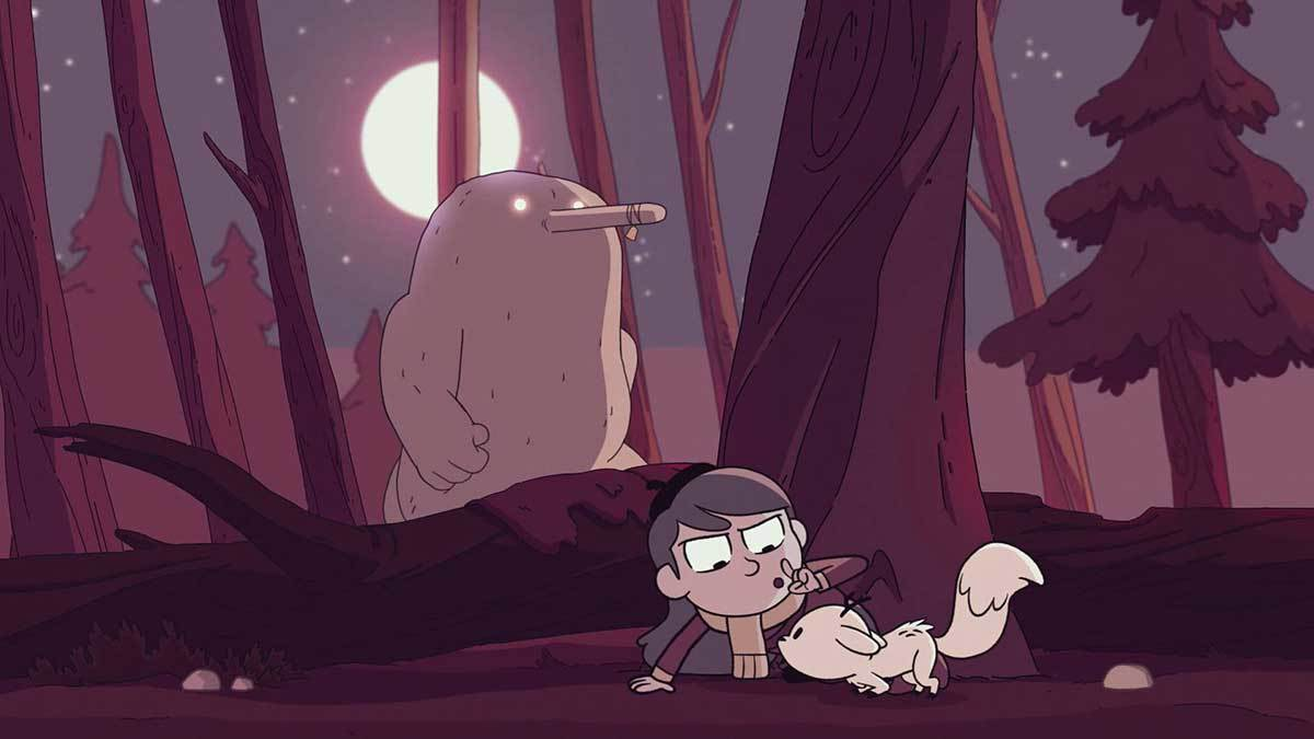 Stephen Davies on writing Hilda: the fearless girl character that ...