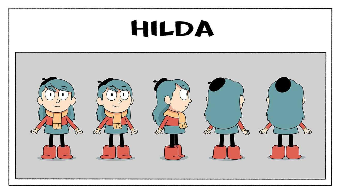 Watch The Trailer For Netflix's New 'Hilda' Series