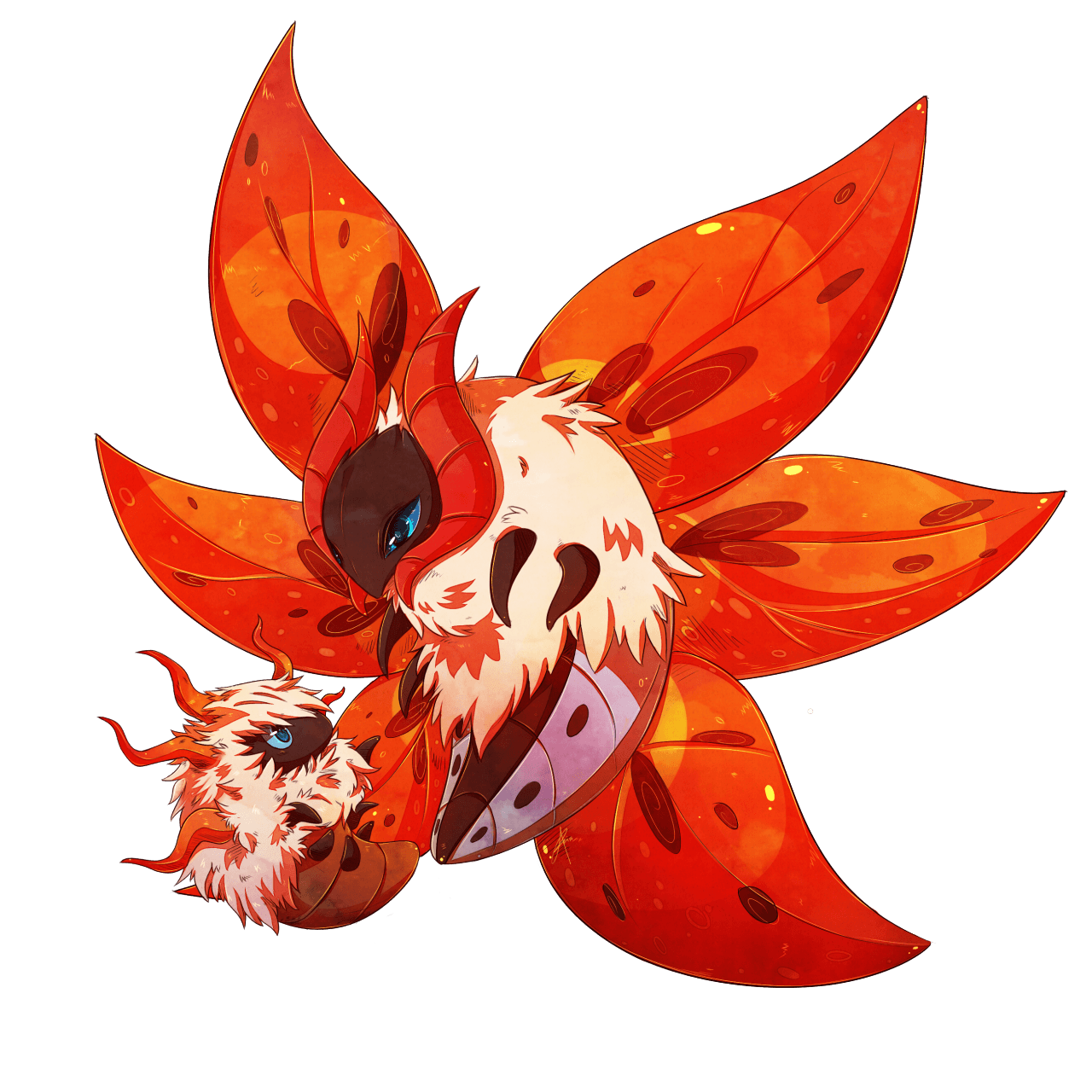 Volcarona Hd Wallpapers Wallpaper Cave