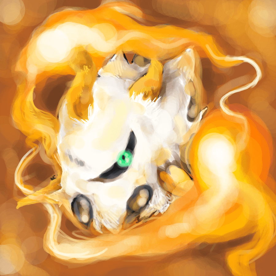 Larvesta Used Flame Charge by redricewine on DeviantArt