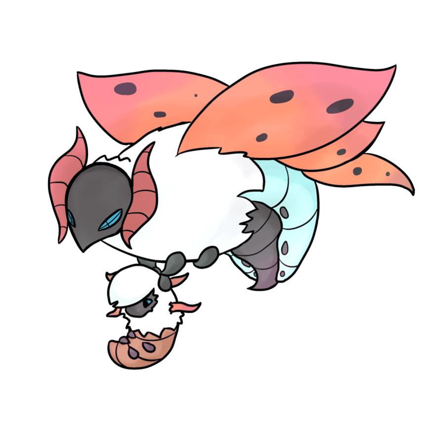 Larvesta And Volcarona by Angel--Tale on DeviantArt