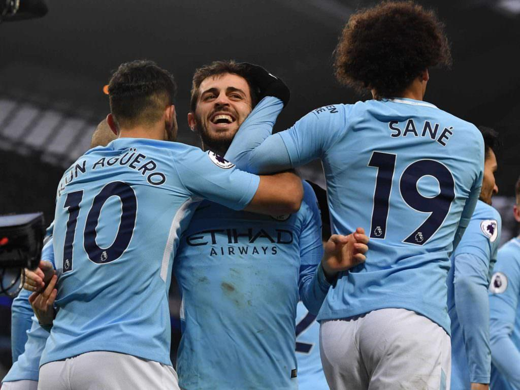 Bernardo Silva: Securing title against Manchester United would be