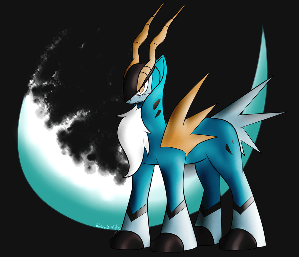 Cobalion by Wonder-Waffle on DeviantArt