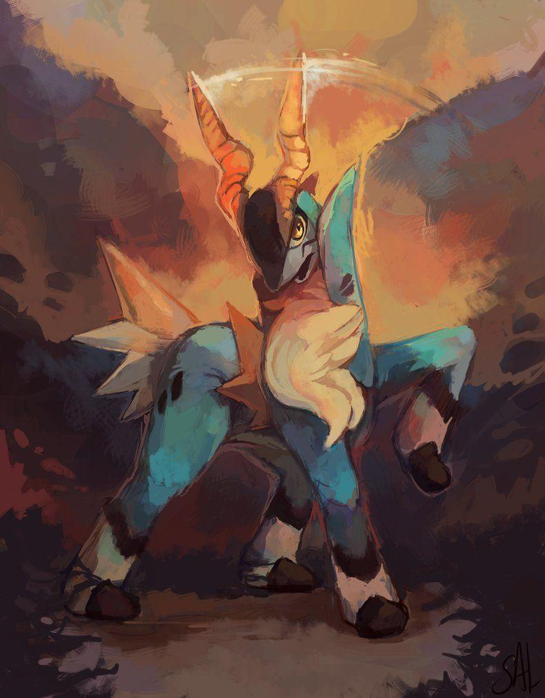 Cobalion by salanchu on DeviantArt