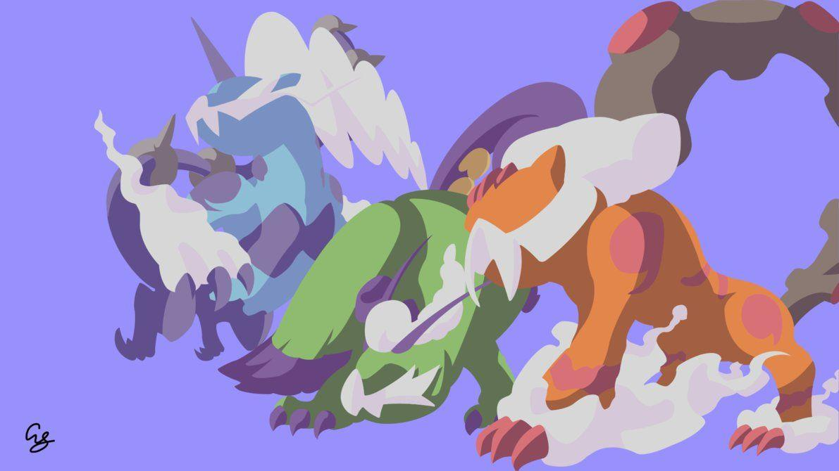 Thundurus Tornadus Landorus Therian Form - Pokemon by ArseySenpai on ...