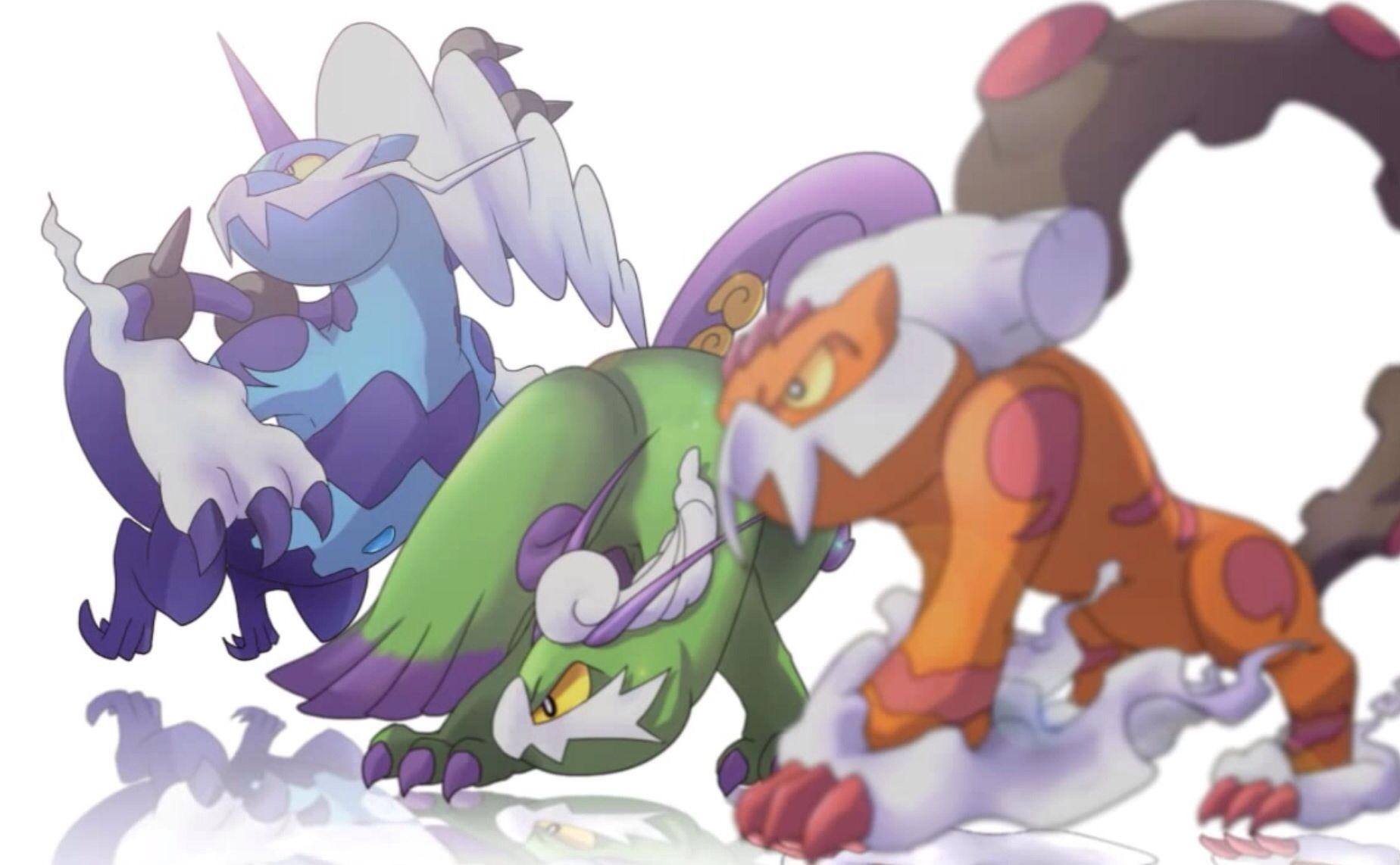 Alternate forms of Landorus, Tornadus, and Thundurus