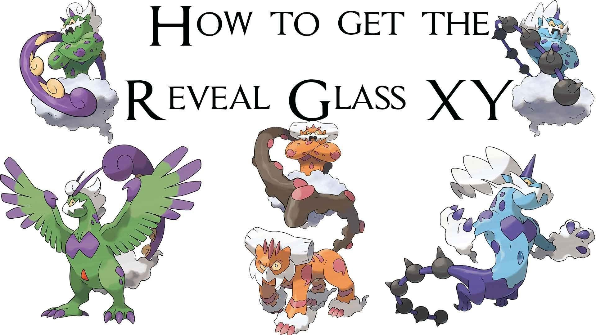 How to get the Reveal Glass Pokemon XY How to Therian Forme Tornadus