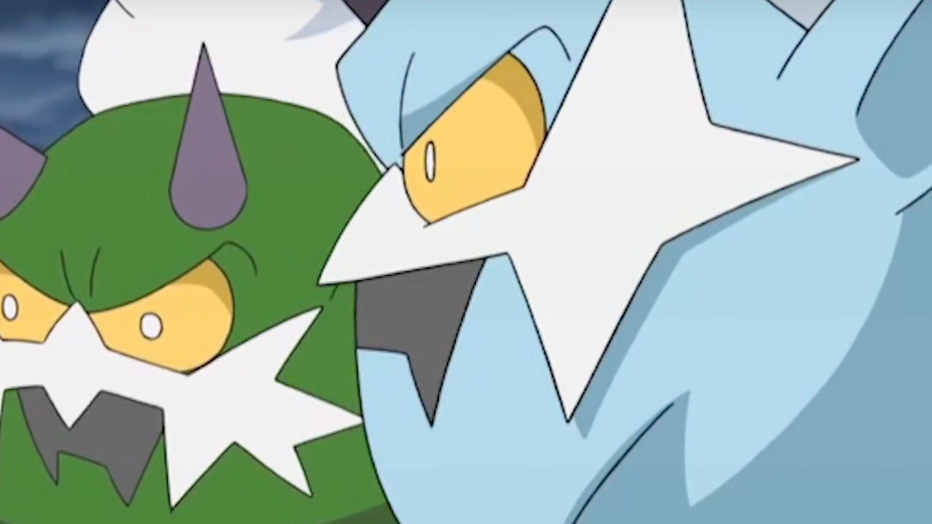 Tornadus and Thundurus are the next pair of distributed Legendary