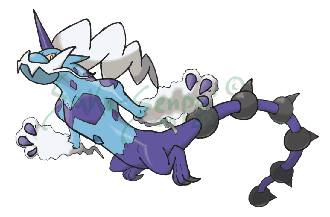 Thundurus, Therian by Saku