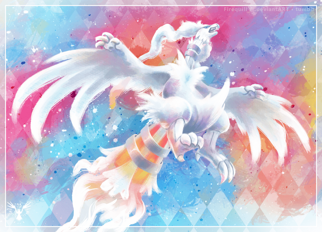 Reshiram by Firequill on DeviantArt
