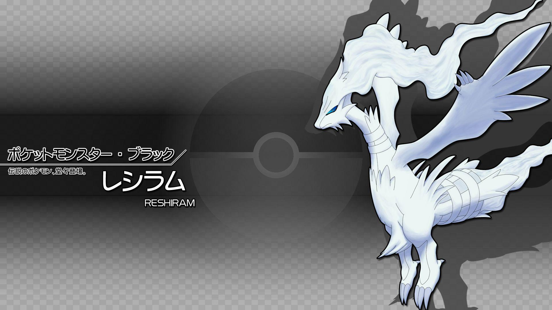 Reshiram - Pokémon - HD Wallpaper #289128 - Zerochan Anime Image Board