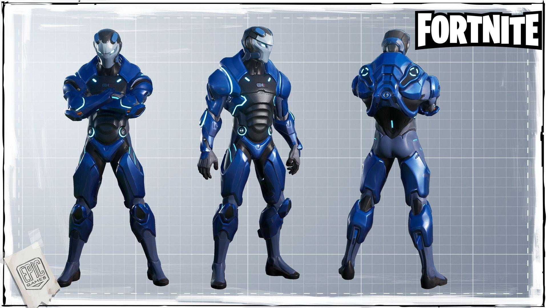 ArtStation - Fortnite - Carbide, Harrison Moore | Exoskeleton ...