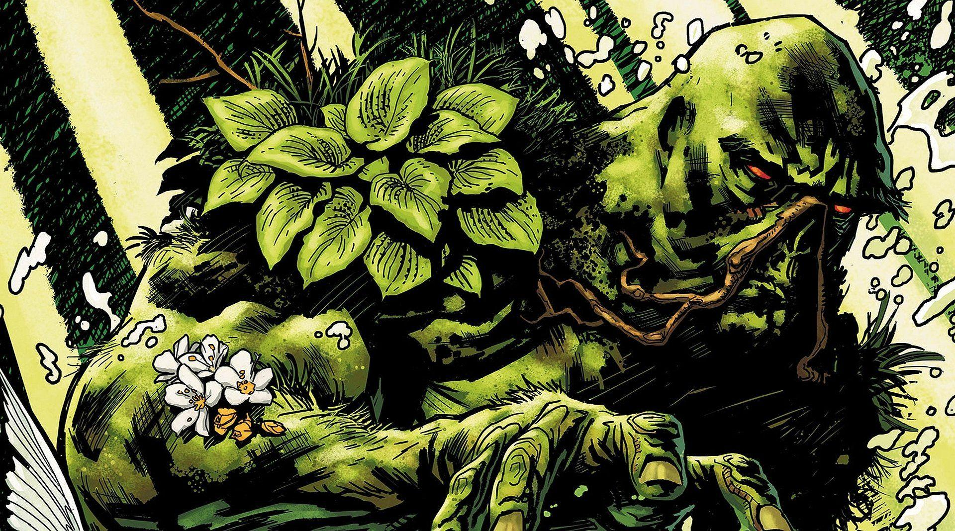 Swamp Thing Wallpapers Wallpaper Cave