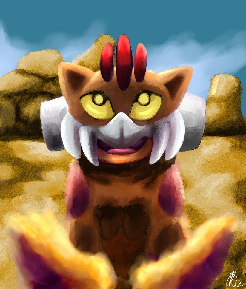 Baby Landorus Therian Forme by Phatmon on DeviantArt