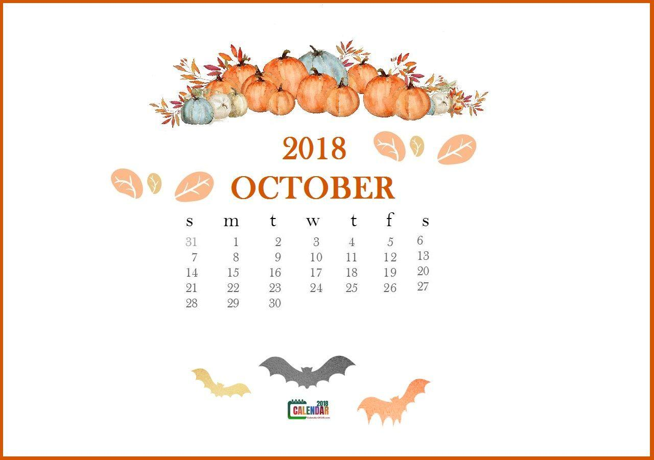 october 2018 desktop wallpaper