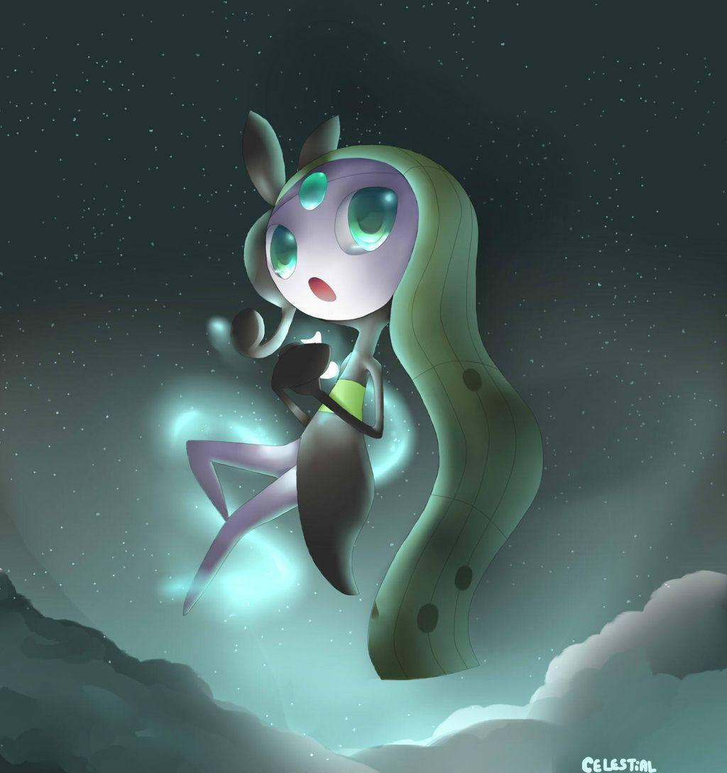 Meloetta - Free time painting by celestial080 on DeviantArt
