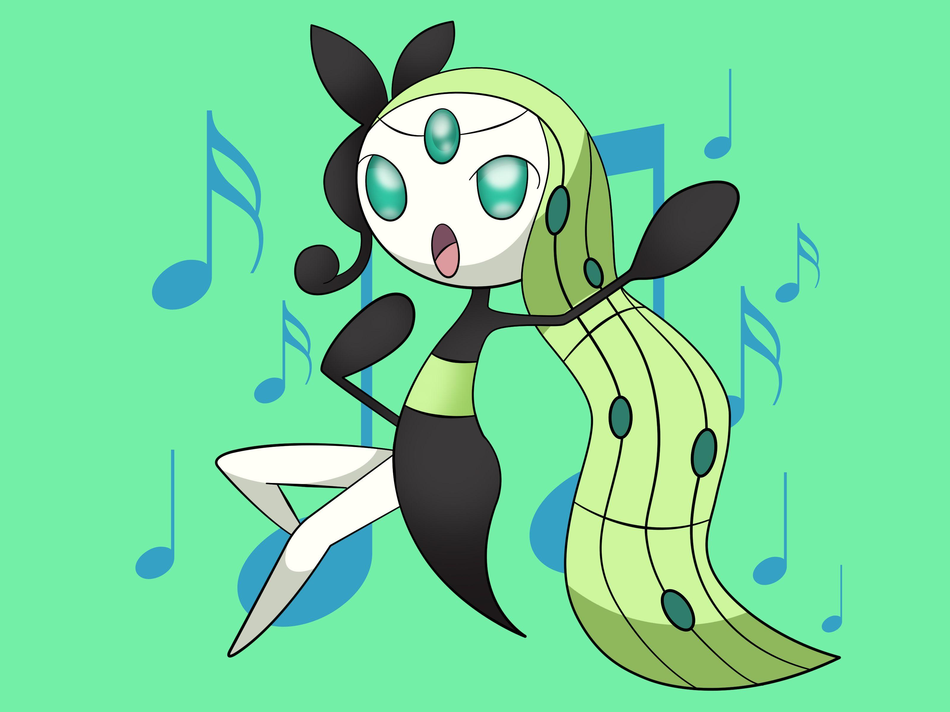 How to Draw Meloetta: 9 Steps (with Pictures) - wikiHow
