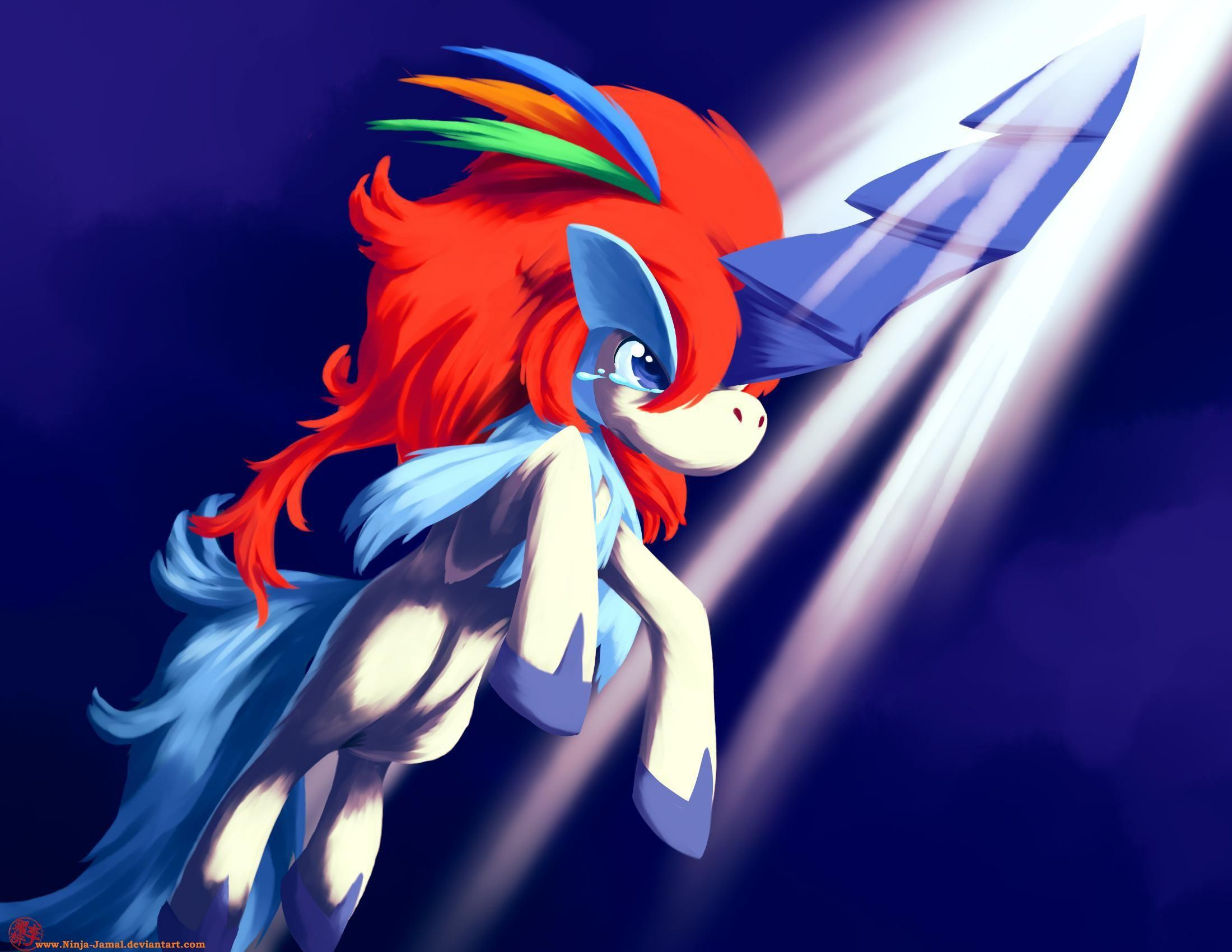Tears Of Keldeo HD desktop wallpaper : Widescreen : High Definition ...