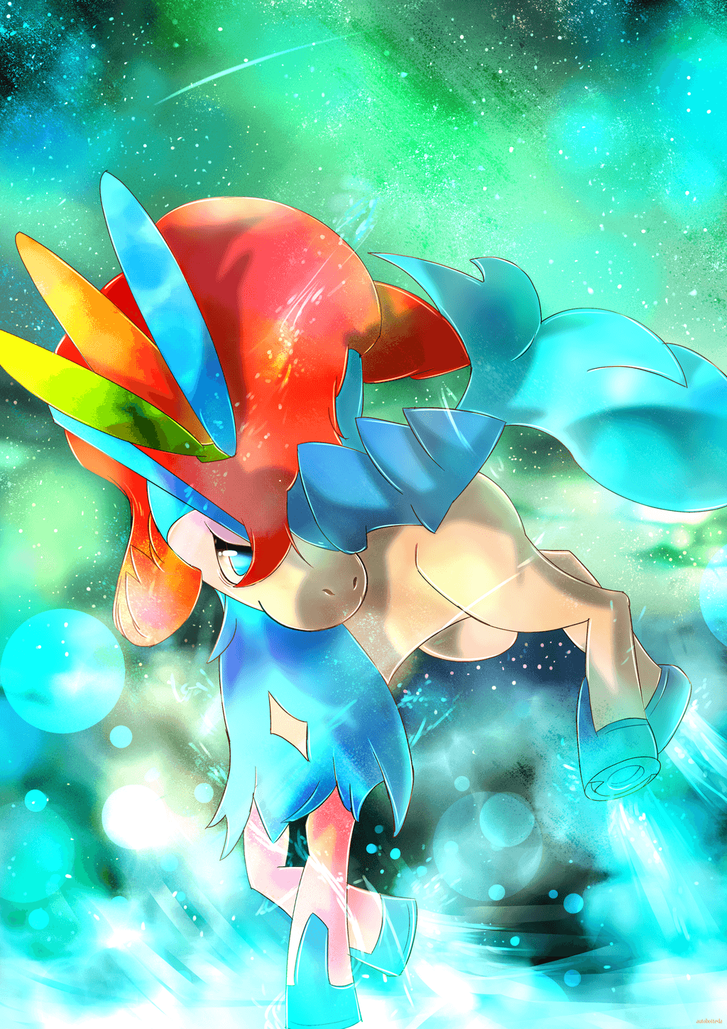 Day 249 - Keldeo (Resolute Forme) by AutobotTesla.deviantart.com on ...