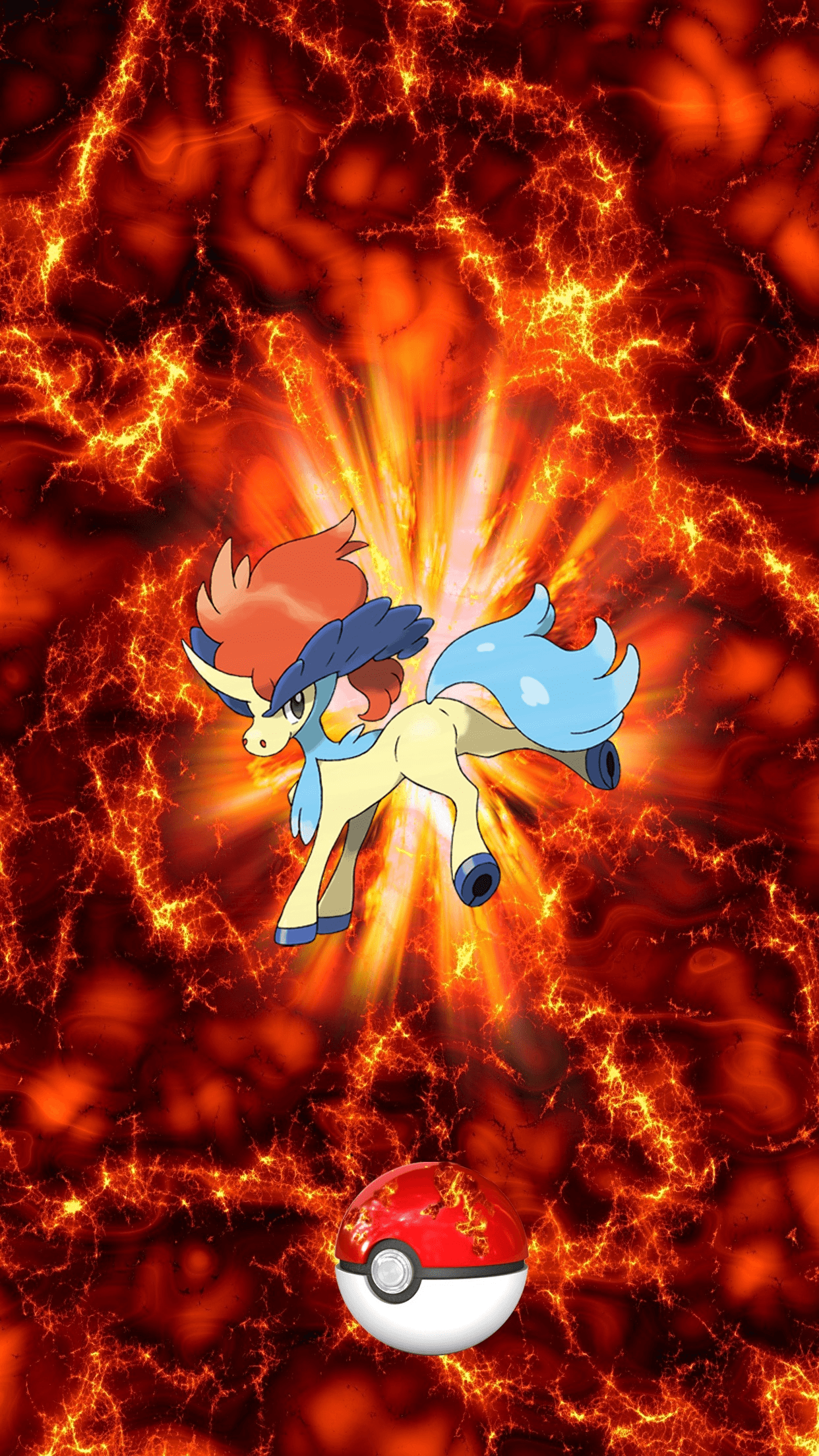 647 Fire Pokeball Keldeo i Keldeo 17 | Wallpaper