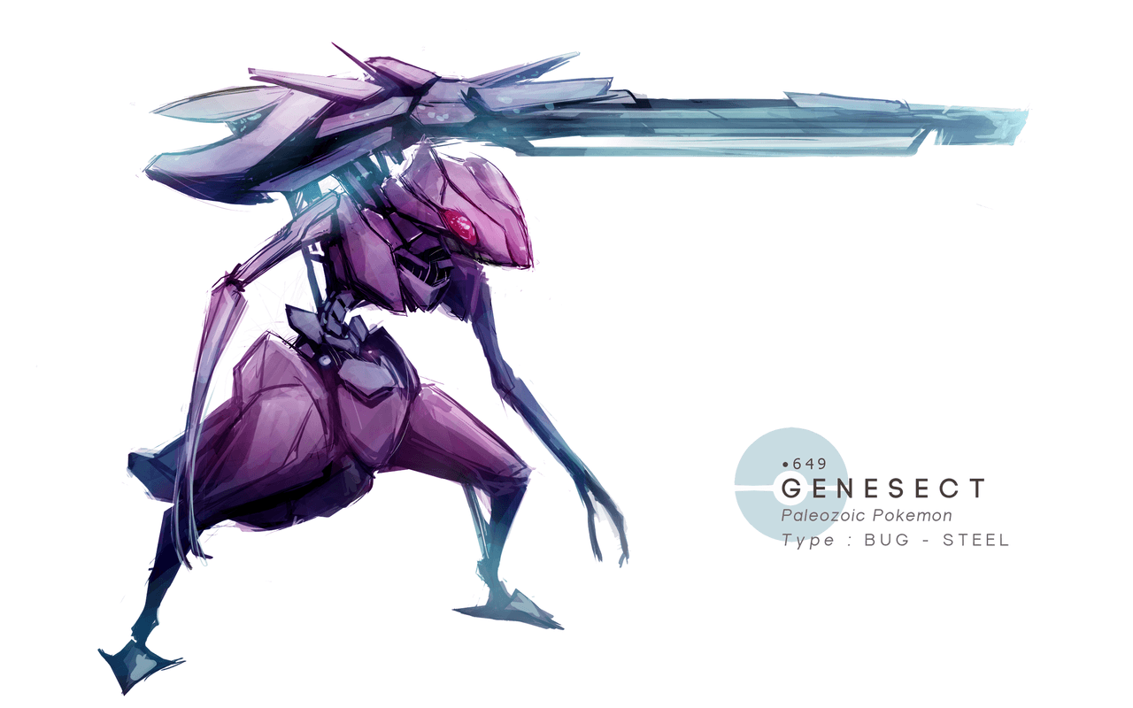Genesect Realist style