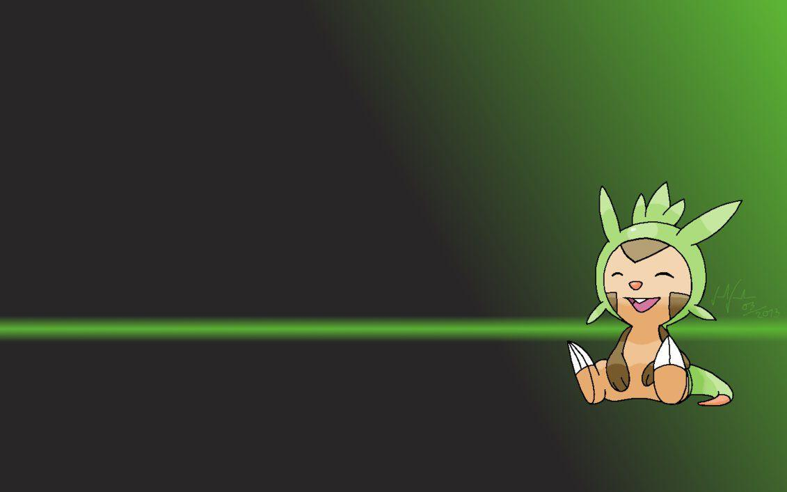 Chespin Wallpaper by ZaneMiyoshi on DeviantArt