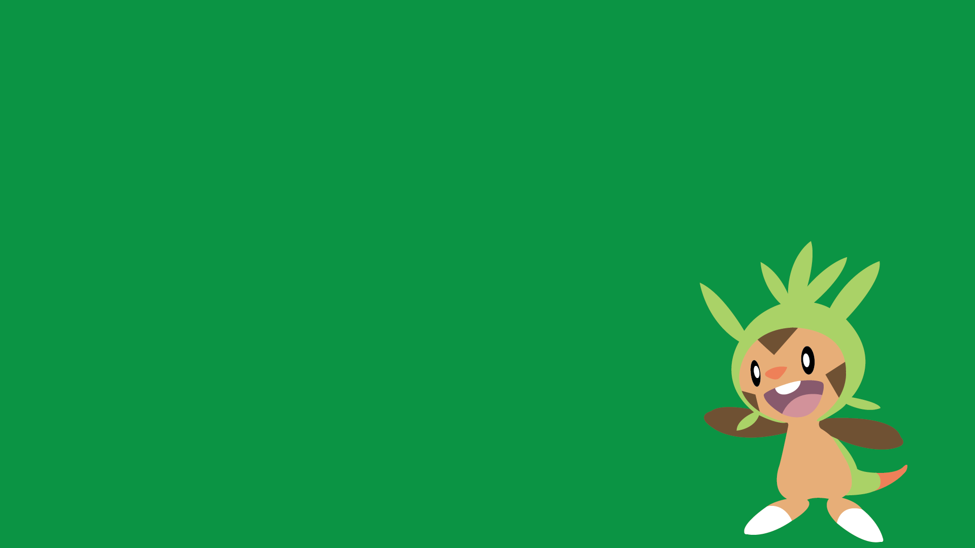 Chespin Wallpaper : pokemon