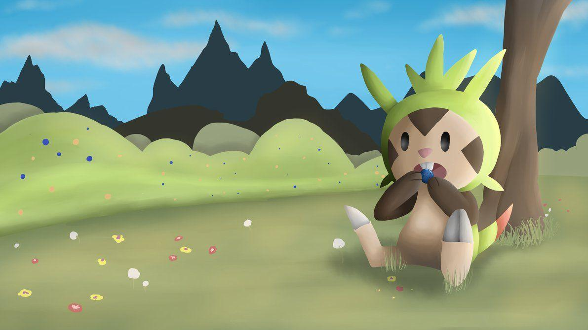 Chespin HD wallpaper by DrCreo on DeviantArt